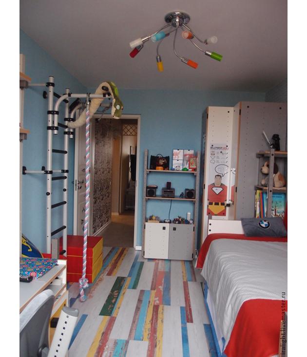 яркая комната для мальчика 6 лет с супер героями Httpwww