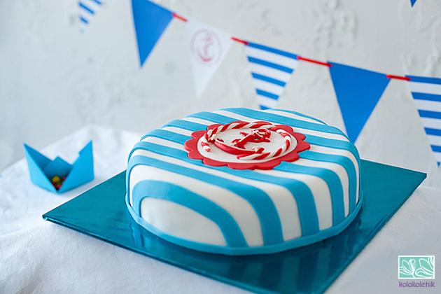 Торт в морском стиле своими руками