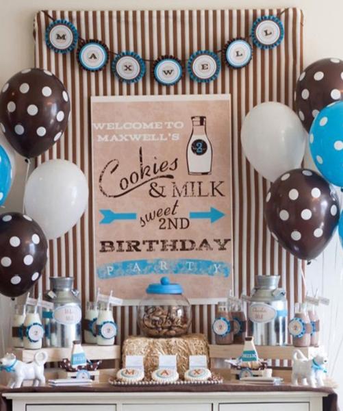 Как украсить детский праздник? оформление детского  ~ 212735_Birthday Party Ideas Unisex