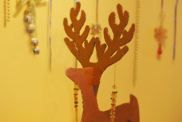 "Новогодний праздник ""Олени с бубенцами"" | http://www.babyroomblog.ru/"