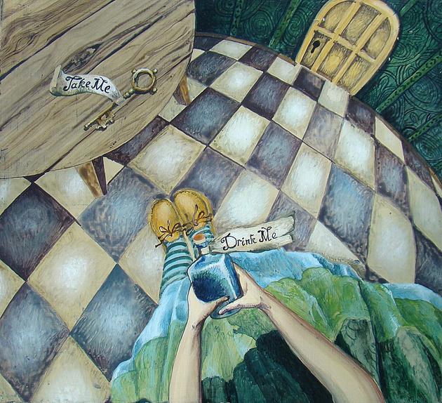 Роспись мебели  Марина Дайковская