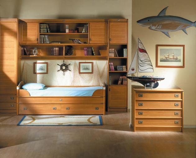 детская мебель морская тема