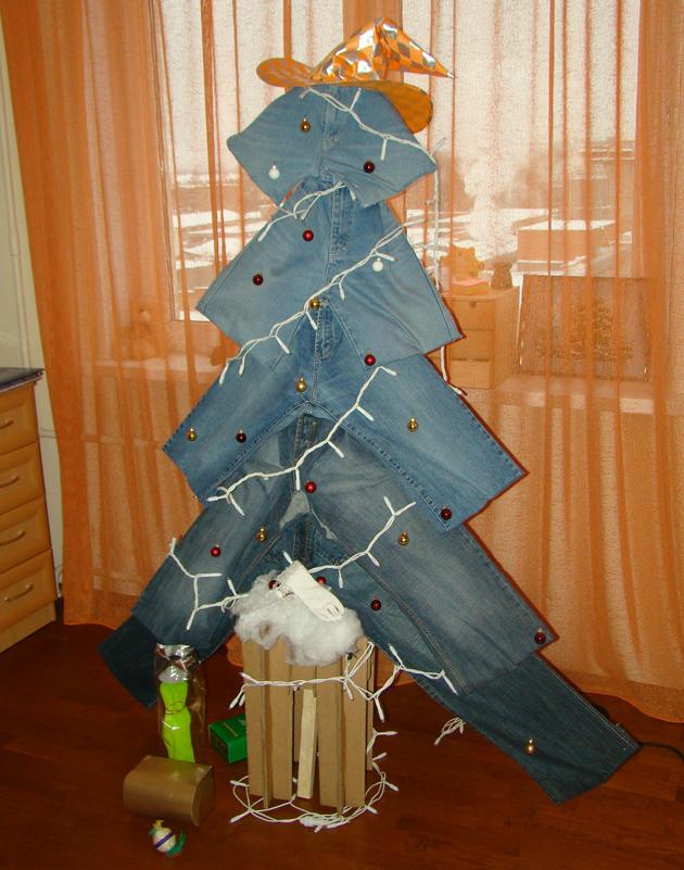 оригинальная елка