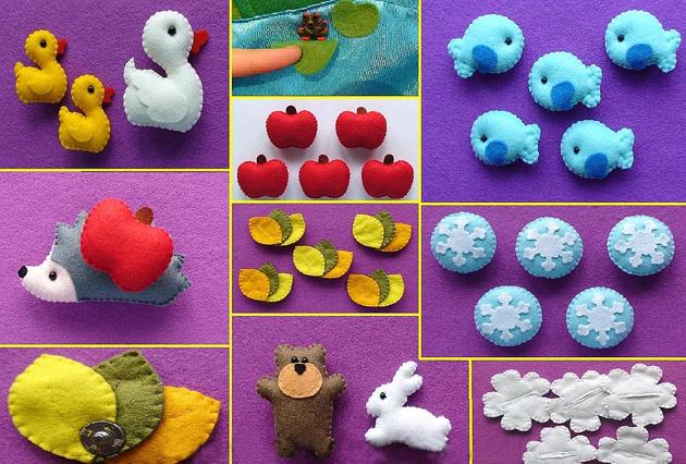 Изделия из фетра для детей