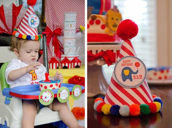 оформление день рождения в стиле цирк