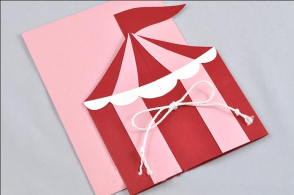 оформление открытки на тему цирк
