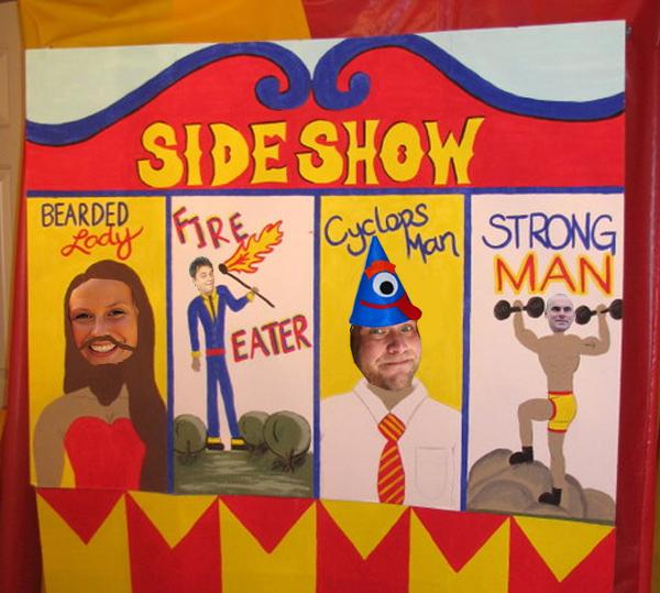 плакат цирк своими руками