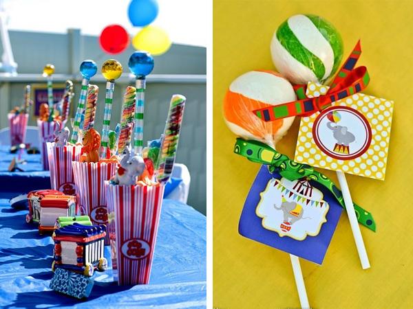 оформление дня рождения тема цирк