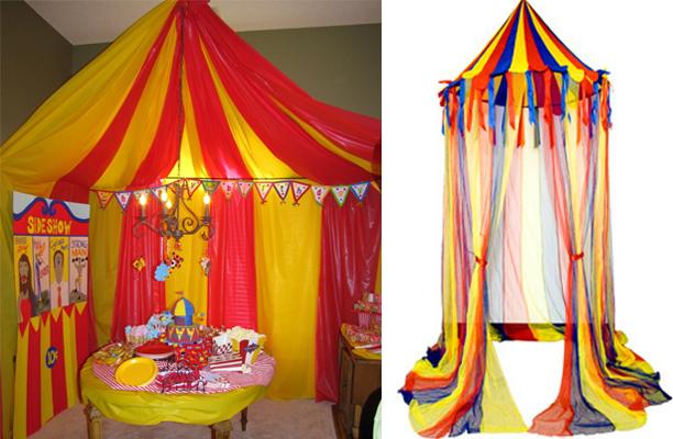цирковой шатер своими руками