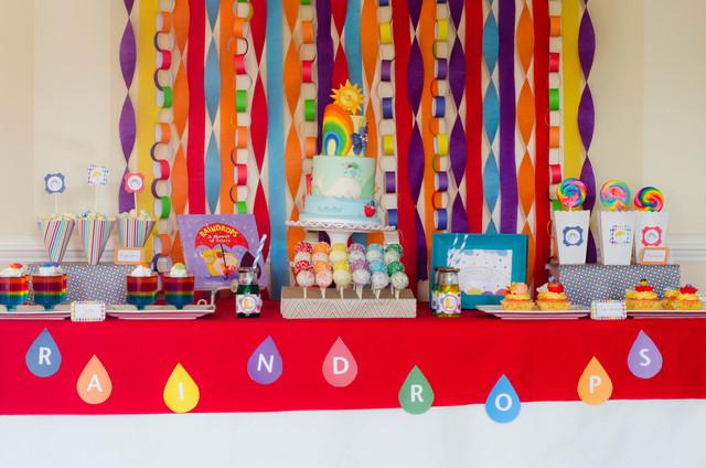 цветной день рождения фото