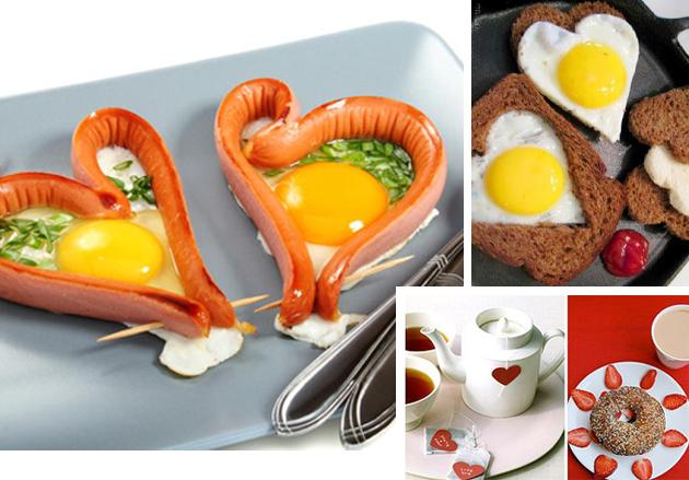 оформление блюд ко дню святого валентина