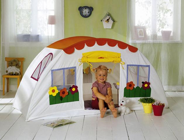 Детские палатки своими руками фото