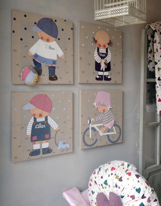 Панно на стену в детскую своими руками
