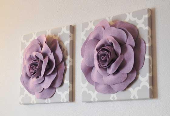 Как сделать цветы из бумаги большие на стену