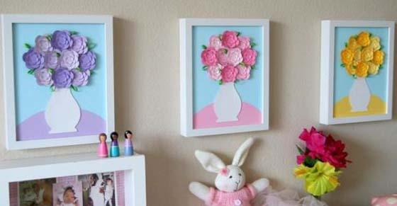 Мастер класс объемные цветы из бумаги на стену своими руками фото 109