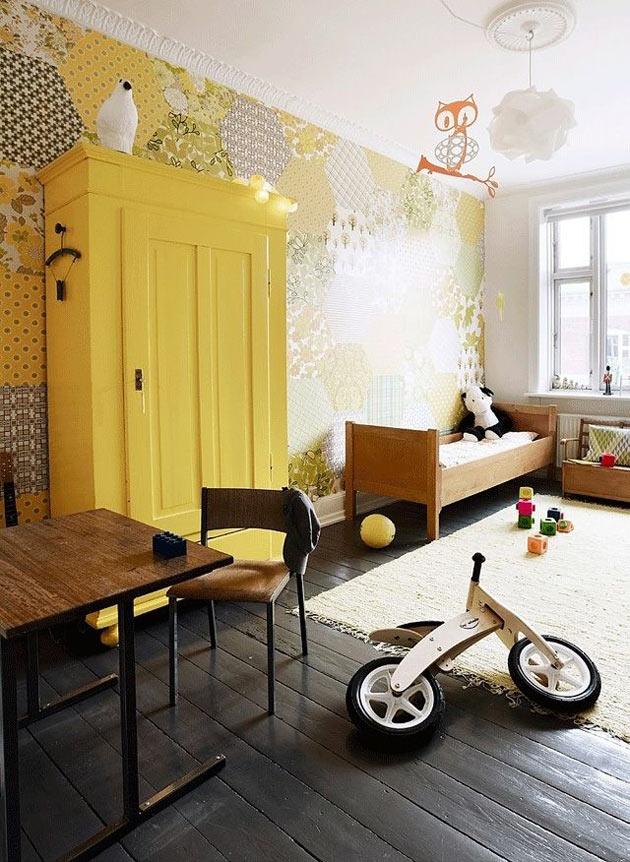 Детская в желтом цвете – пусть всегда будет солнце!g