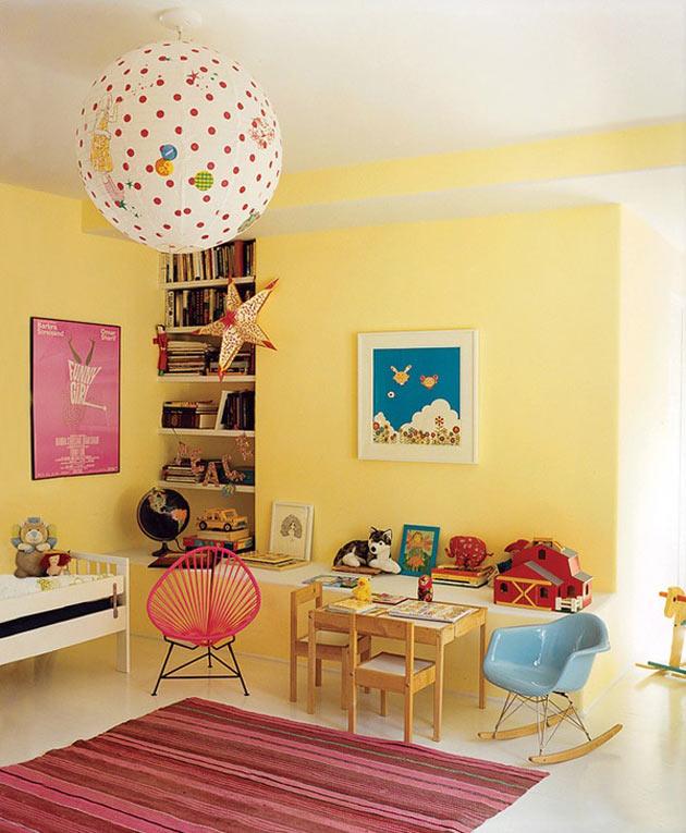 Детская в желтом цвете – пусть всегда будет солнце!