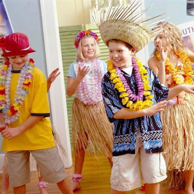 Гавайская вечеринка своими руками