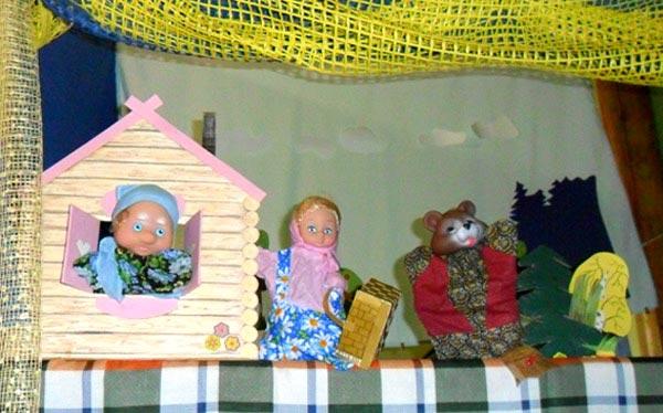 Кукольный театр своими руками проекты