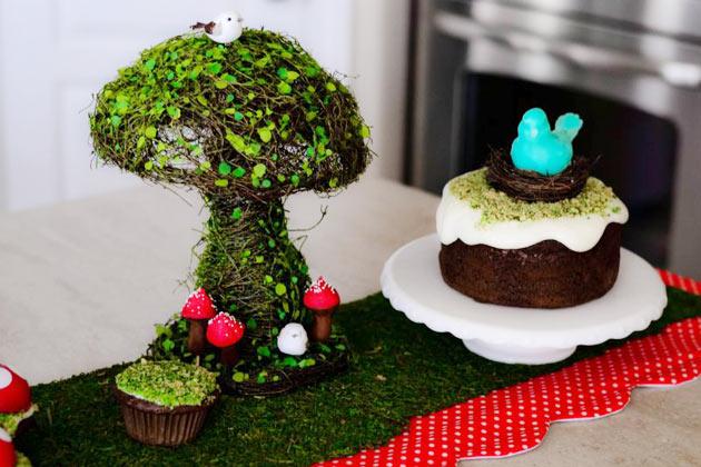 День рождения в сказочном лесу