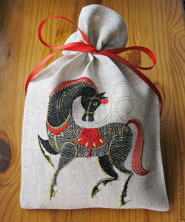 Русский сувенир вышивка 23