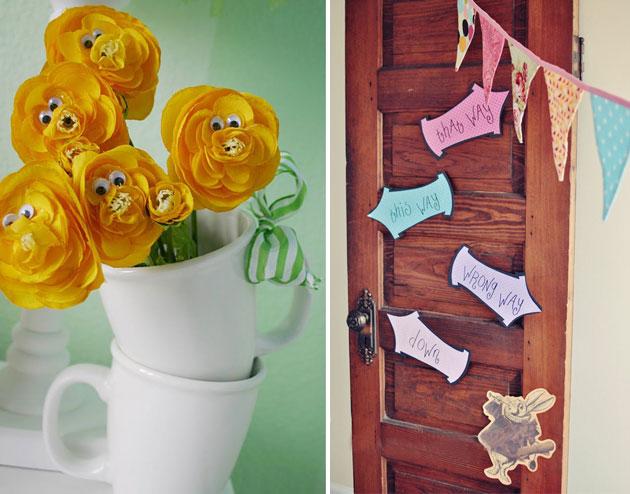 Как украсить комнату в стиле алиса в стране чудес своими руками