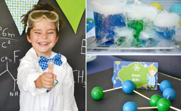 Занимательно-химический День рождения