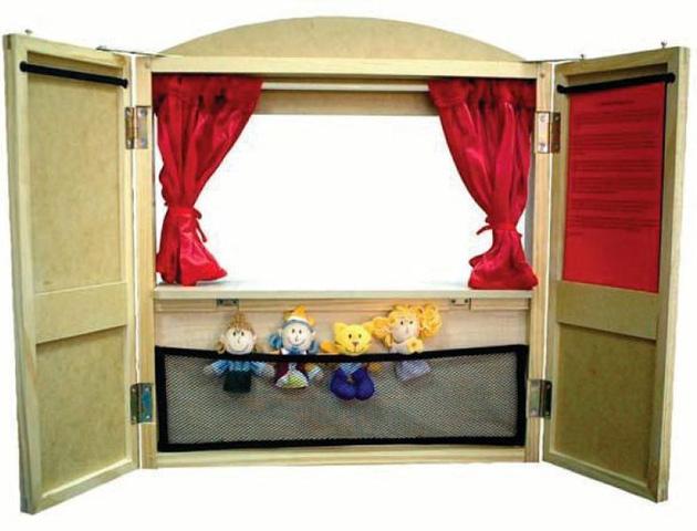 Ширма для кукольный театр