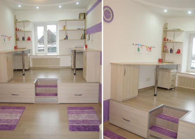 Дизайн детской комнаты для разнополых детей (52 фото) 17