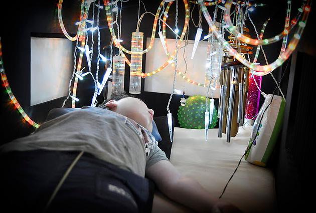 Сенсорная комната для детей инвалидов