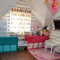 Похожие записи: Софьины владения. Детская комната на мансарде Детская комната для Степаши и Николаши (4 и 1 год) Салатовая детская для Данилы Детская для Камиллы и Виктории