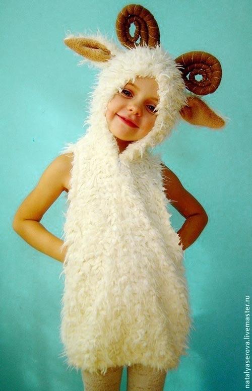 Костюм козы в новый год