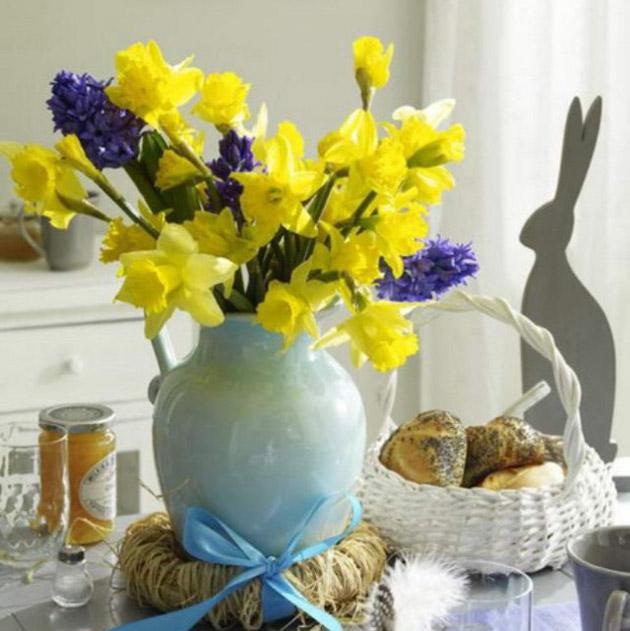 Весенние цветочные композиции своими руками