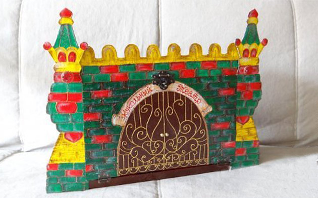 Как сделать кукольный театр из картона