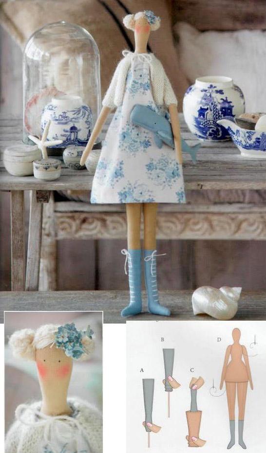 Как покрасить ткань для тильды чаем 4