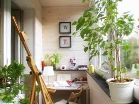 Три решения для детского уголка на балконе