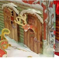 Недавно мы зашли с дочкой в книжный магазин и увидели на витрине чудесную и очень новогоднюю книжку «Дом Деда Мороза» от издательства АСТ. Точнее, это не совсем книга, это книга-панорама,...