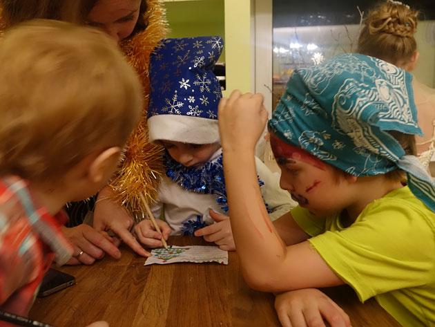 Новогодний квест для детей 5–7 лет