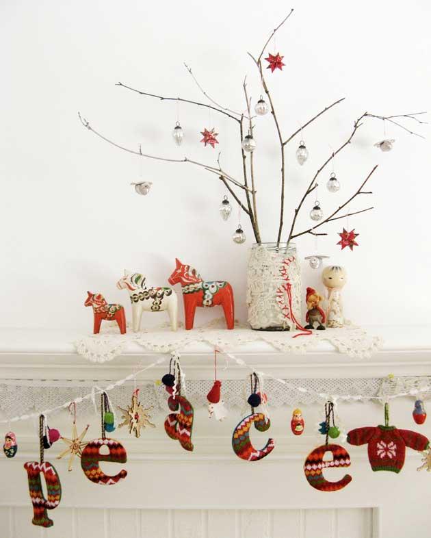 Новогодние праздники в скандинавском стиле