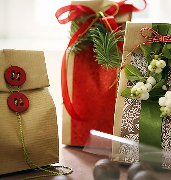 Подарки из чая на новый год своими