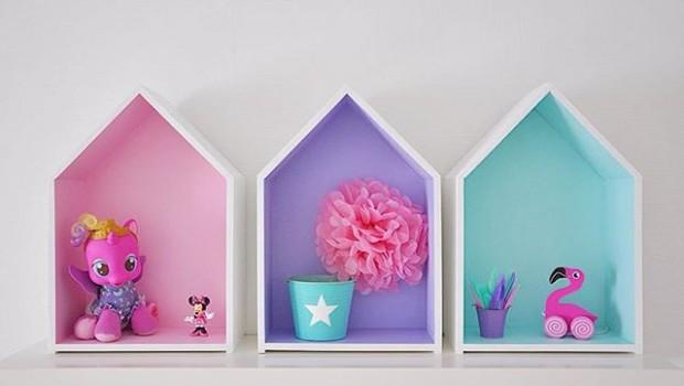 домики-полки для детской комнаты