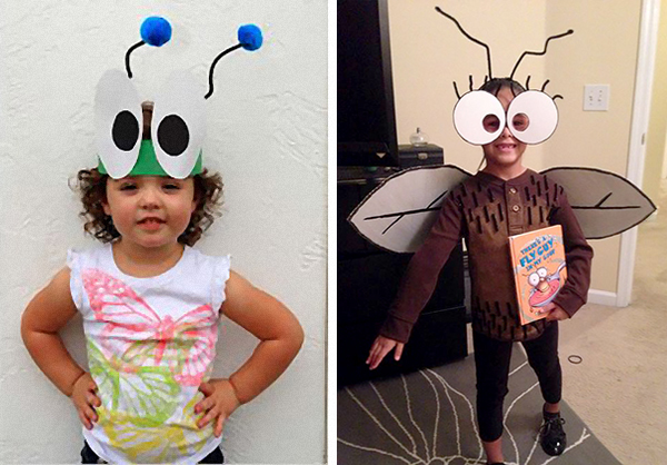 Из чего сделать костюм комара своими руками 112