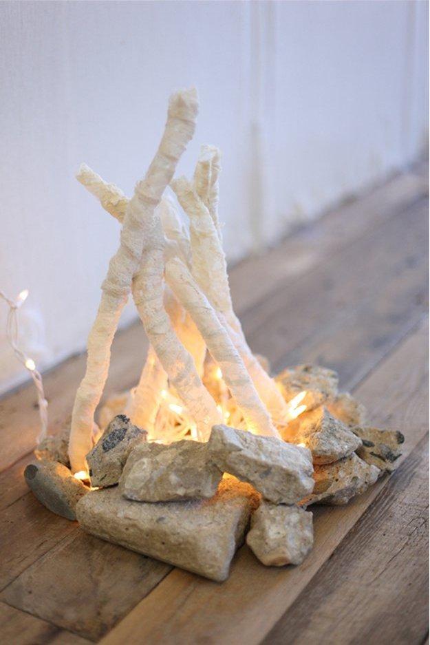 Сделай декоративный факел своими руками
