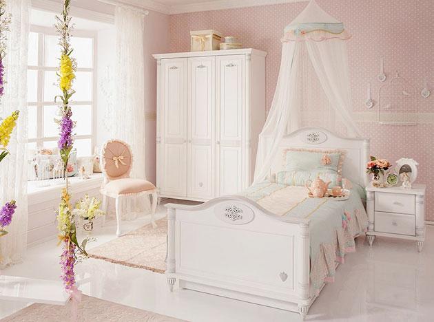 Выбираем детскую мебель – лучшие коллекции в стиле Классика и Прованс