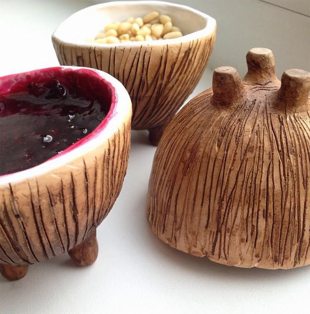 Глиняные изделия ручной работы