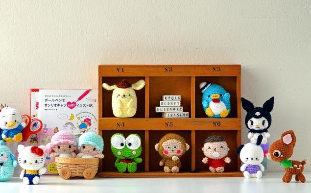 Вязаные игрушки амигуруми – идеи, приемы работы