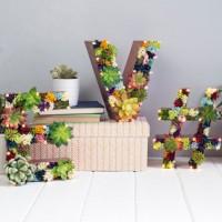 Необычные идеи для праздничного декора и украшения интерьера вашей комнаты от дизайнера из ВеликобританииVikki Quinlan, которая делаетобъемные буквы из цветов со светодиодной подсветкой. Эти композиции отлично оживляют интерьер комнаты, добавляя...