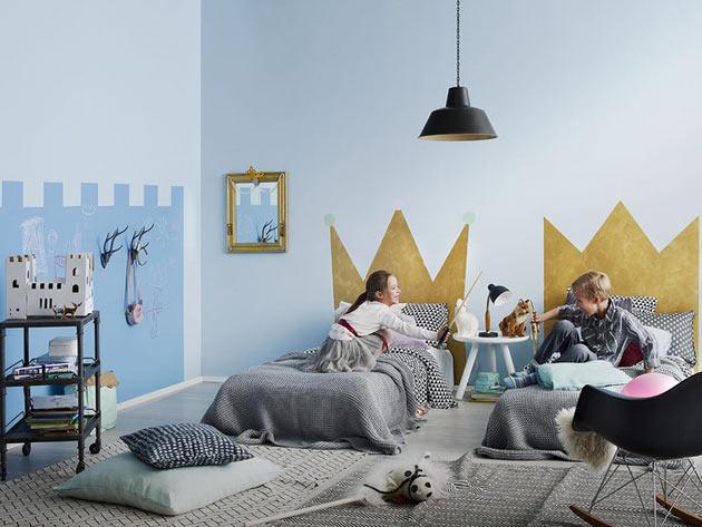 Краски специального назначения для детской комнаты