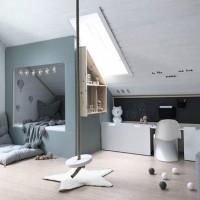 Длинное узкое помещение детской нетипично для большинства городских квартир, однако оно может получиться в результате перепланировки части квартиры – тогда оптимальным дизайнерским решением для него станет детская в стиле лофт....