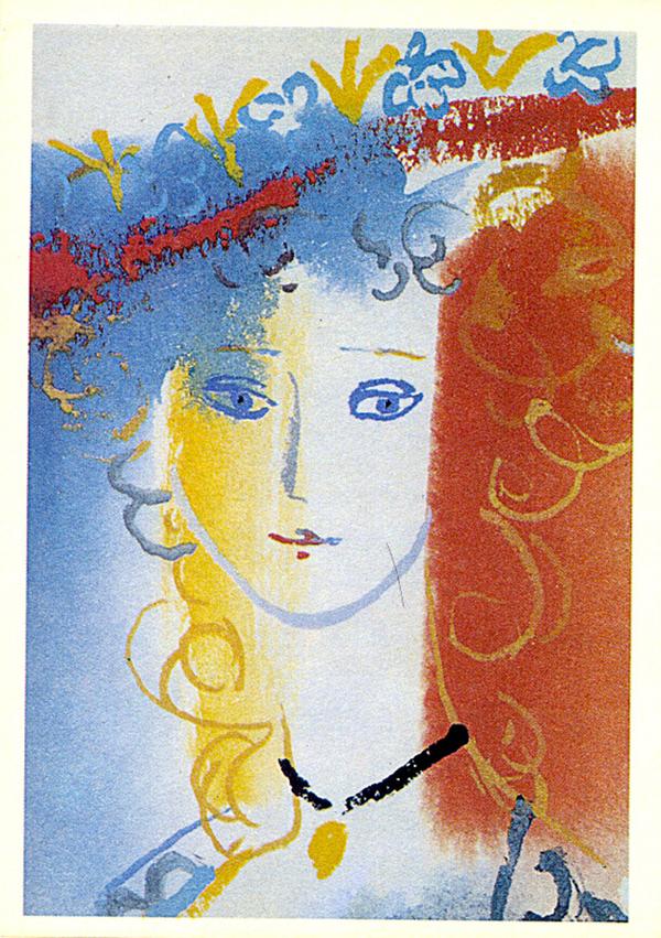 Иллюстрации Траугот к сказкам Шарля Перро